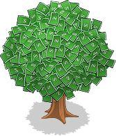 drzewo z kasy