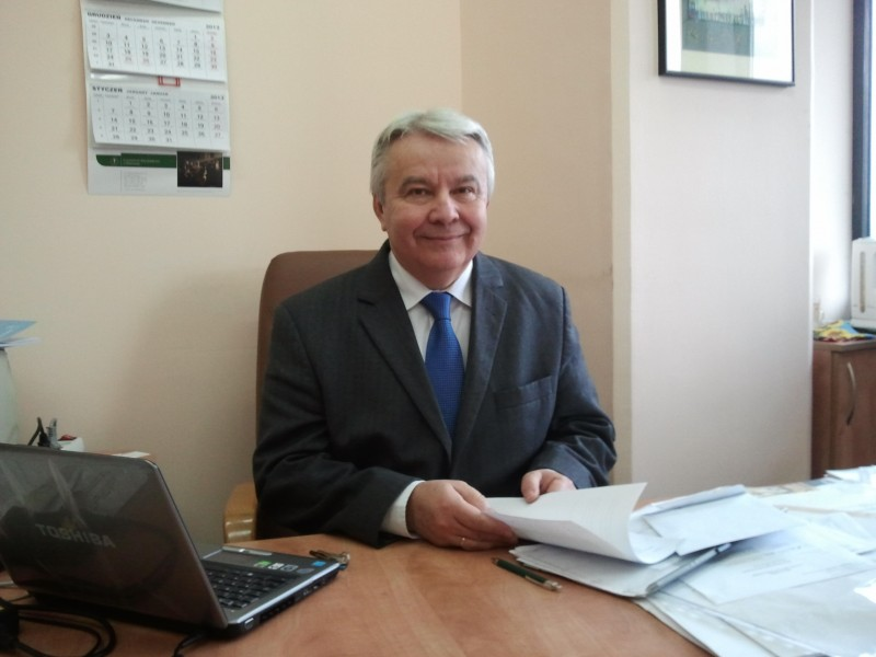 Profesor Henryk Mruk
